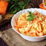 Морковь с сыром чесноком и майонезом