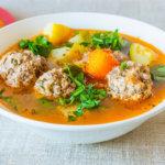 Тефтелевый суп